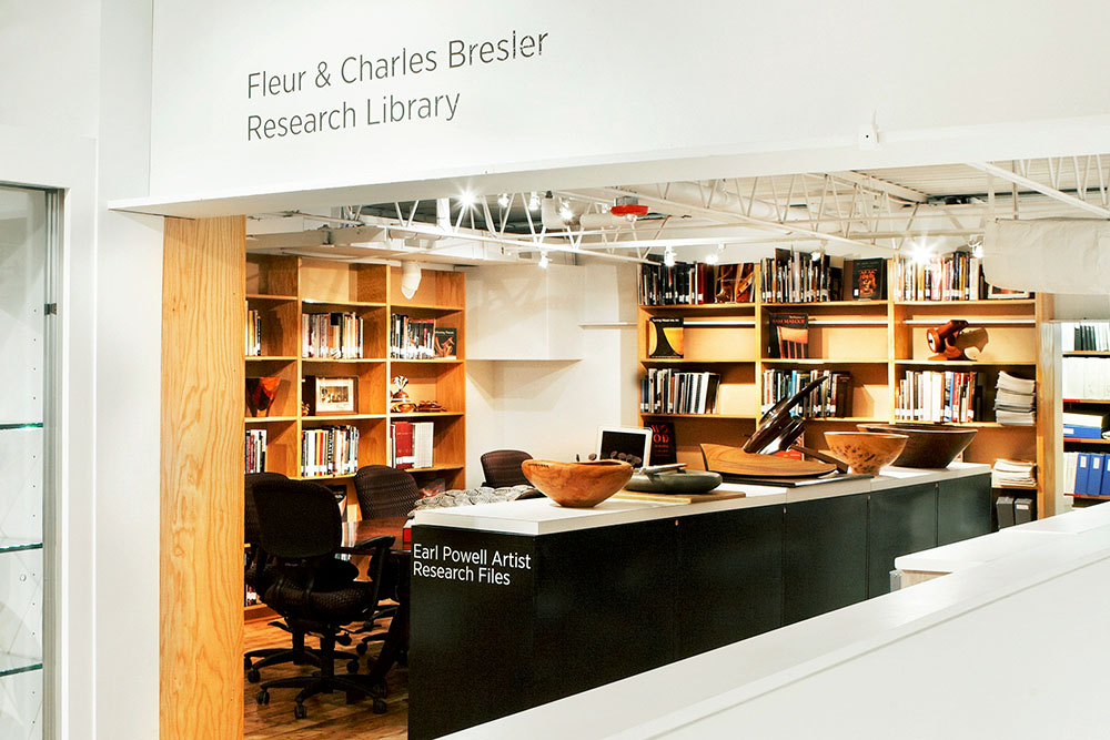 The Center for Art in Wood Research Library