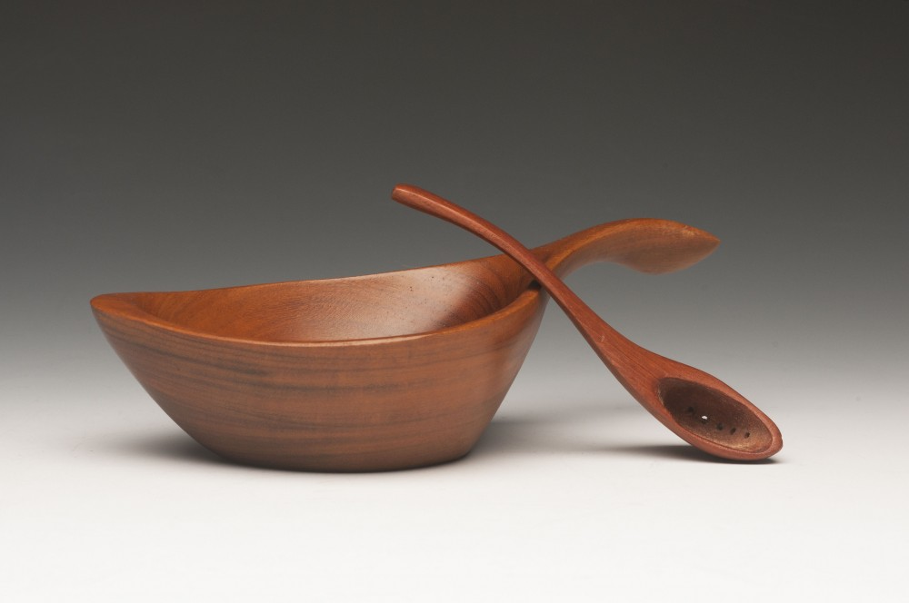 Small Salt Bowl and Spoon