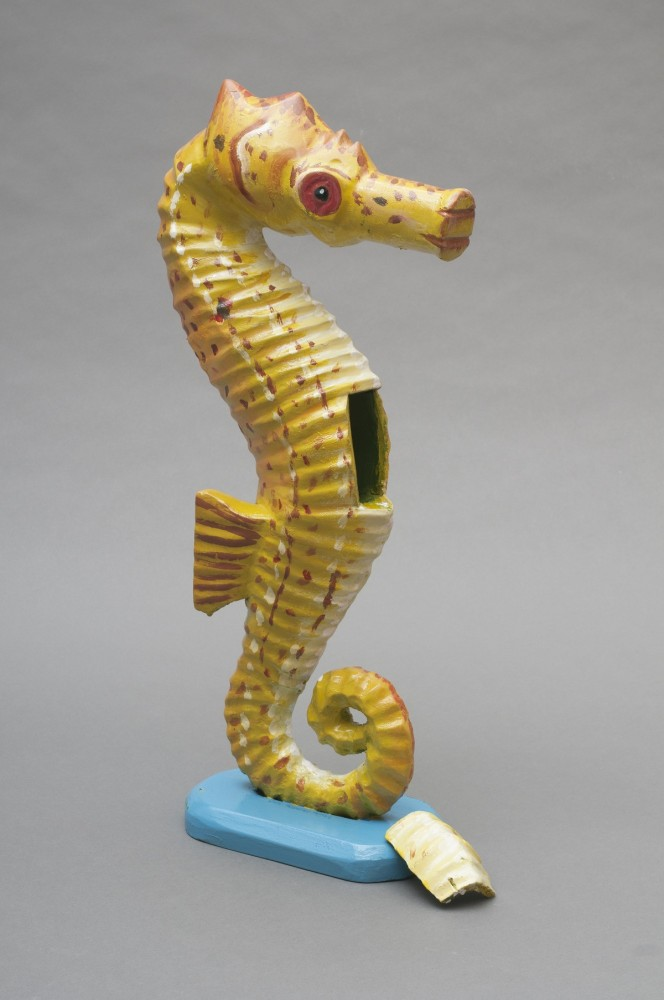 Jewel Box in a Seahorse Form