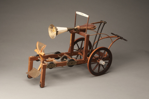 Patent Model for the First Snowblower