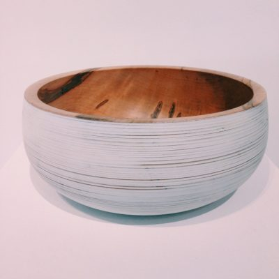 Mark Gardner Tall White Bowl