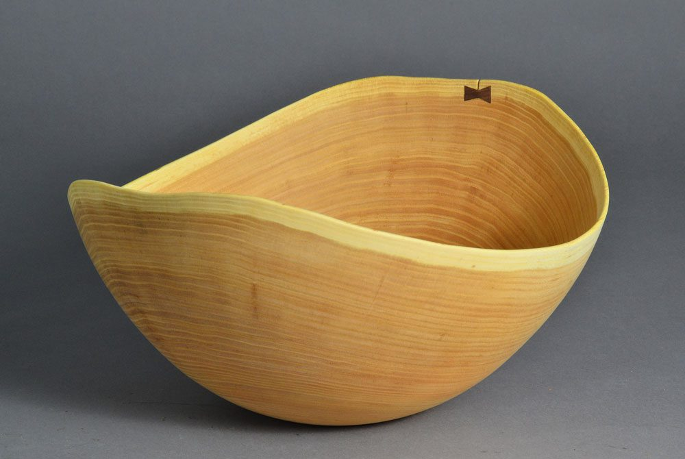 Mystery Wood Natural Edge Bowl