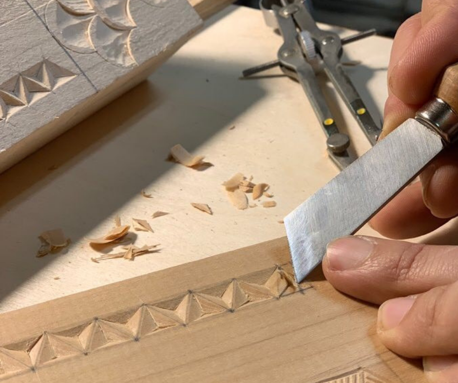 Chip carving patterns with keunho peter park the center for art in